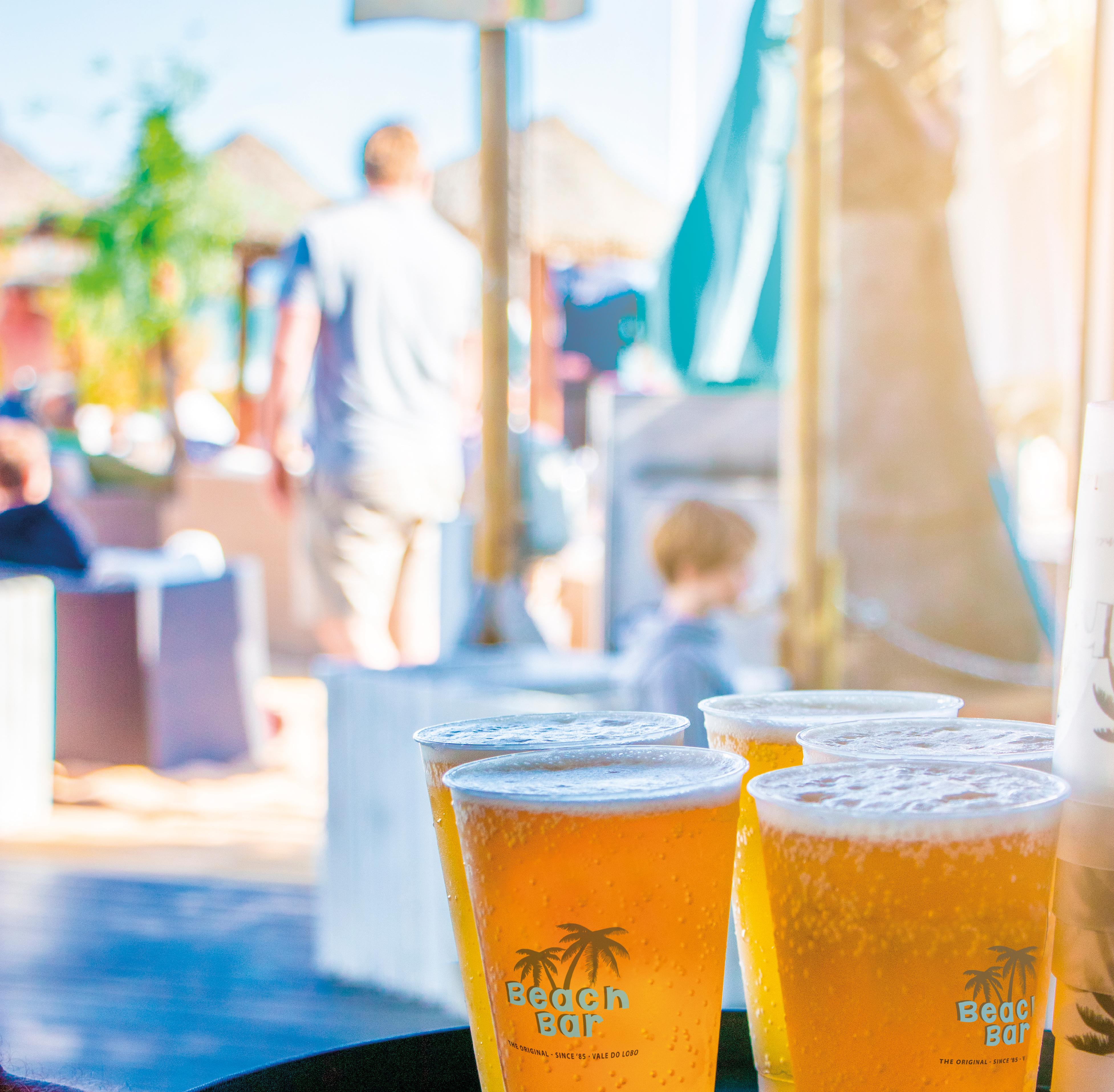 beach bar cerveja